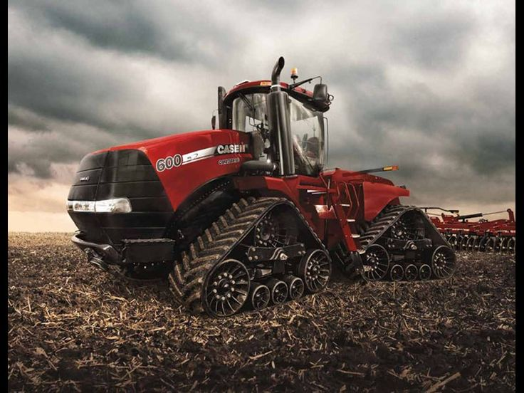 How about a little Case love... 2012 Case IH Quadtrac 600...