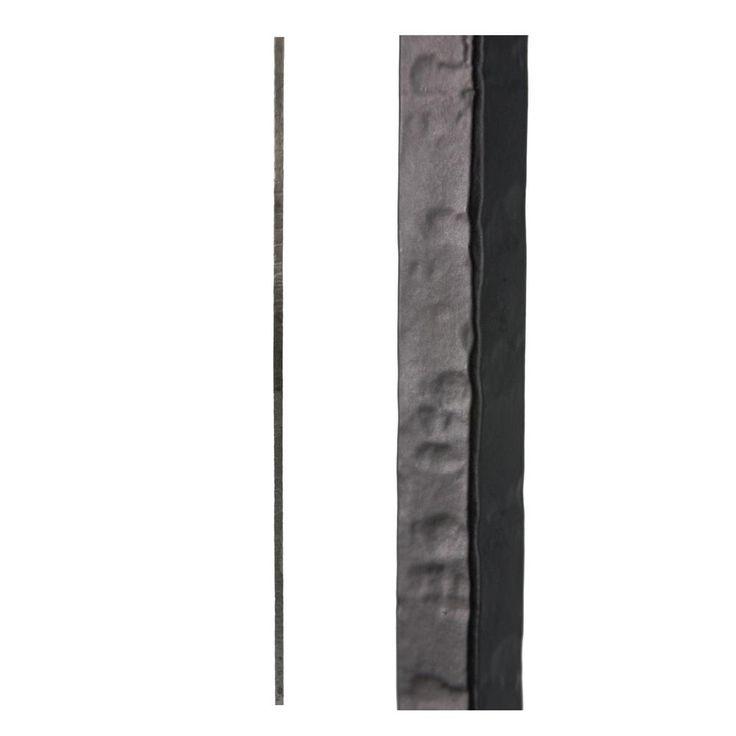 Best House Of Forgings Satin Black 3 2 1 Square Hammered Plain 400 x 300