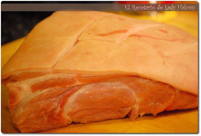 Paleta de cerdo al horno - http://www.mytaste.es/r/paleta-de-cerdo-al-horno-827823.html