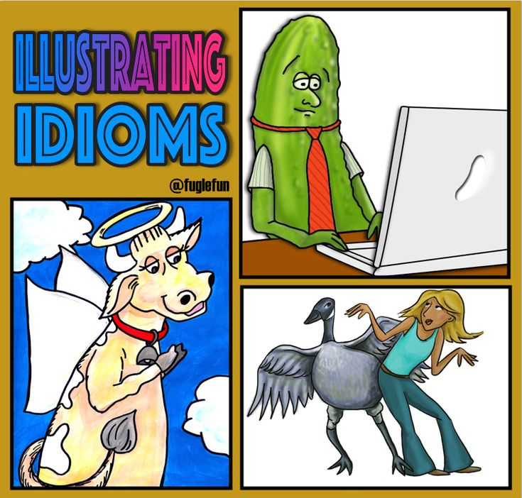 Using Thinglink to Illustrate Idioms