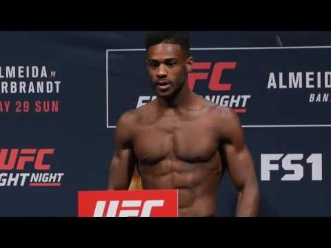 Aljamain Sterling and Bryan Caraway weren't so sweet to each other at the Fight Night 88 weigh-ins