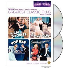 TCM Greatest Classic Film Collection: Astaire & Rogers (The Gay Divorcee / Top Hat / Swing Time / Shall We Dance) $10.99