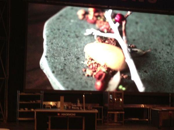 Lima, Mistura: Rodolfo Guzman (Boragó) showed b'tiful video of Chilean foraging, transformation n2 stunning desserts