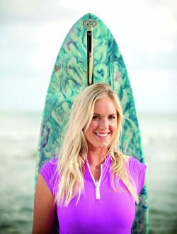 Bethany Hamilton Rides a Wave of Purpose-now, this girl has got GRIT!