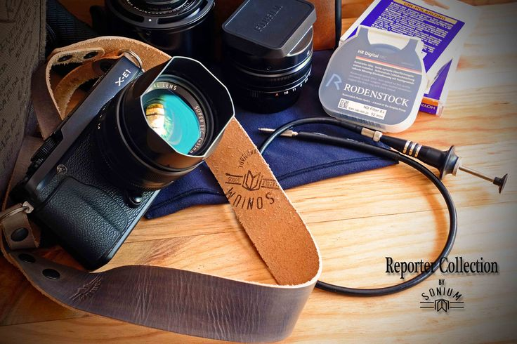 My baby FUJI X-E1 with a great SONIUM LEATHER Camera Strap with 2.5mm thickness leather for comfort.  SONIUM LEATHER Proudly handmade in Portugal Connecting Generations