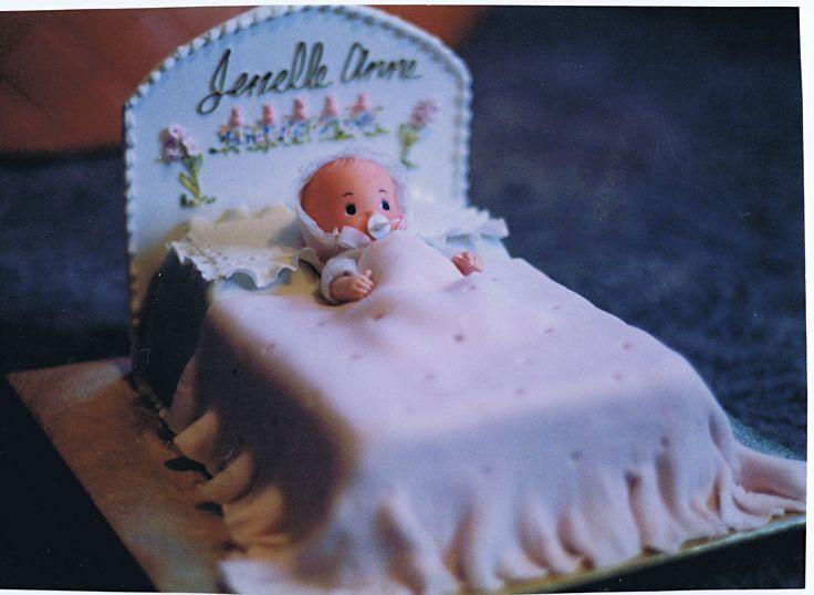 Janelle christening cake