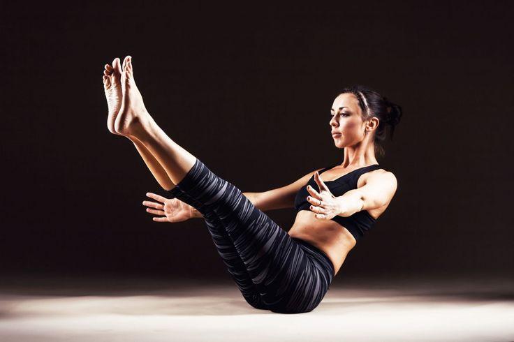 Yoga Pose of the Day – Navasana (Boat Pose)   โยคะ