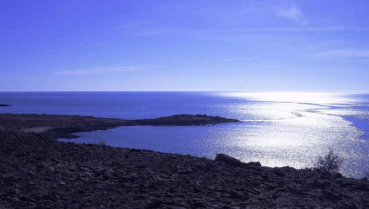 The tides and currents south of Puerticitos