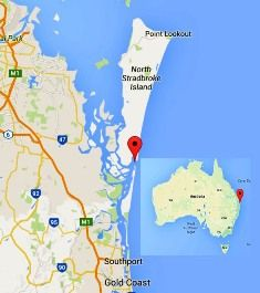It happened today in Australia  - 3 September = Famous Holiday Destination Island breaks in two