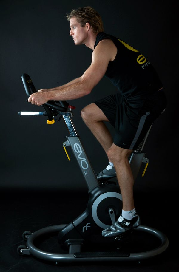 "The Evo Fitness Bike - The Evo Fitness Bike ""ix"" changes the dynamic of home workouts by providing owners with an attractive show piece that looks as good in the living room as it does in the gym. Evo's ""Active Sway Frame"" allows a 10-degree sway to either side to enhance the workout by engaging the user's..."