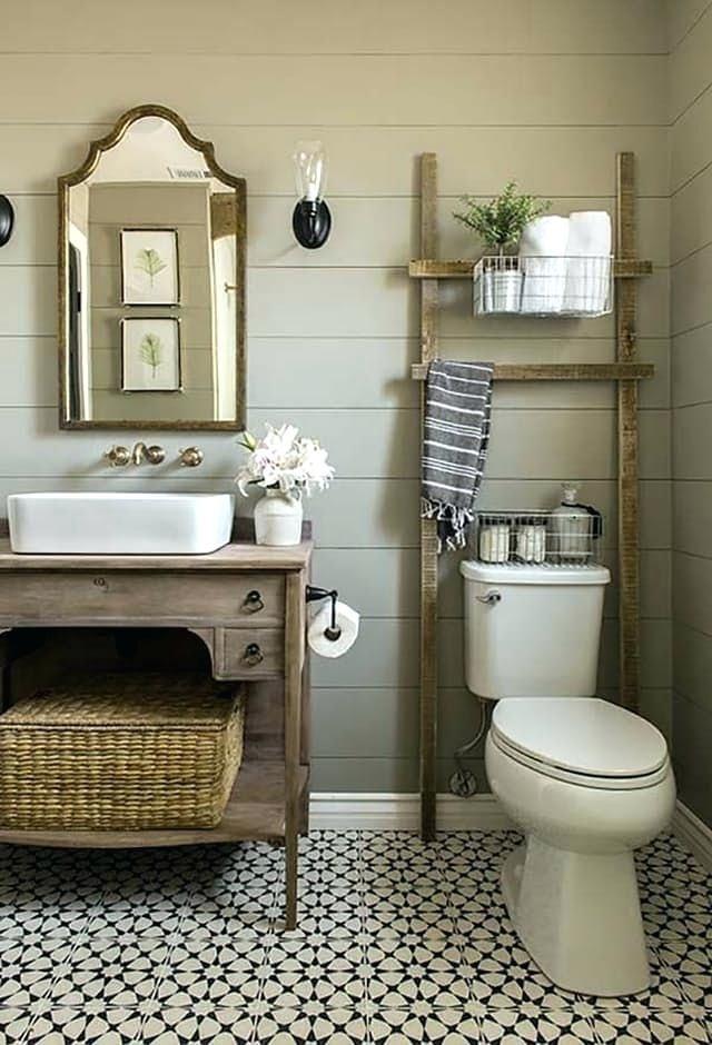 Image Result For Fixer Upper Bathrooms Small Farmhouse Bathroom Farmhouse Bathroom Decor Farmhouse Bathroom Vanity