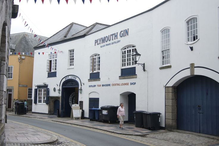 The Plymouth Gin Distillery. The Barbican. It has been making Gin since 1793.