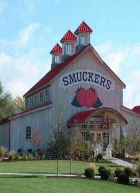 With A Name Like Smuckers The Barn Has Got To Be Good - Orrville, Ohio