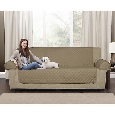 Tan Suede Couch