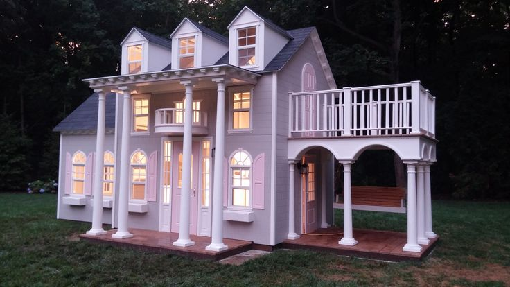 Gallery | Luxury playhouses, Play houses, Playhouse outdoor