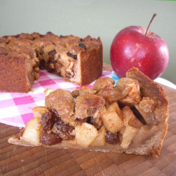 Suikervrije appeltaart / Taart & gebak / Recepten | Hetkeukentjevansyts.jouwweb.nl