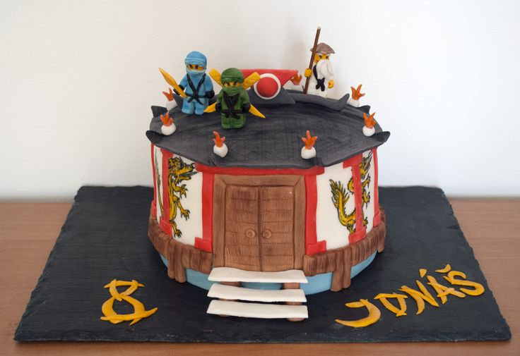 Ninjago dort. Ninjago Cake.