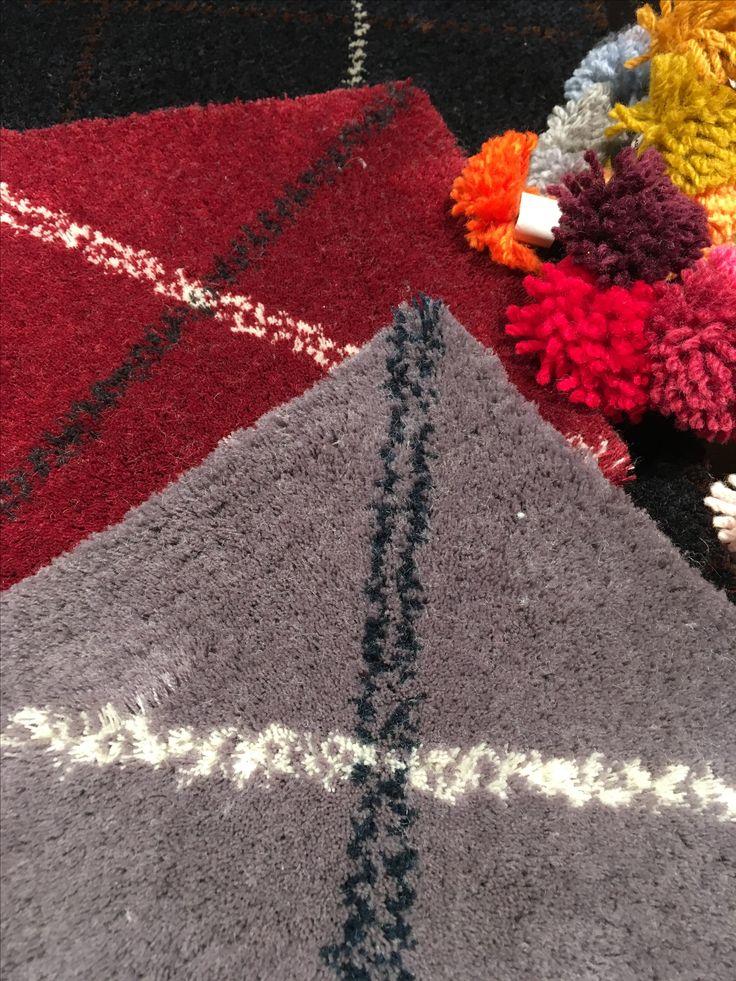 Cotlin Barcelona presenta la Colección Rombus, alfombras tejidas en tufted a mano en 100% lana natural de Nueva Zelanda aplicando patrones inspirados en los tejidos escoceses.