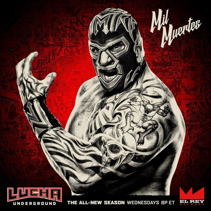 The Man of 1,000 Deaths is ready to put Prince Puma in a casket. Don't miss a BRAND NEW EPISODE of #LuchaUnderground, TONIGHT at 8p ET on @ElReyNetwork!