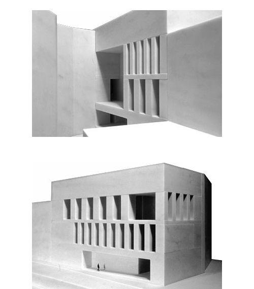 Peter Zumthor & Pavlina Lucas > architecture > hinter dem giesshaus #arquitectura #peter zumthor #maquetas