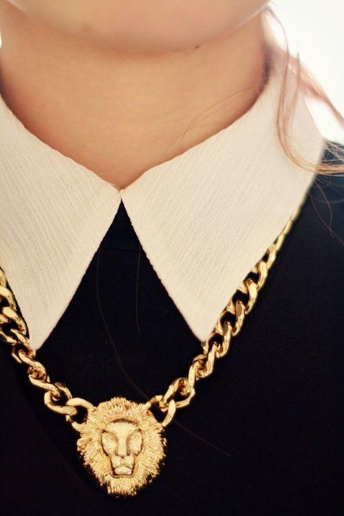 Collar gold chain