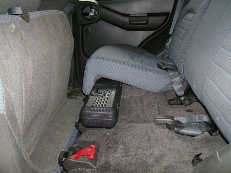 Quick Easy Extra Storage Inside Xterra (Updated: 6/17/10!!) - Second Generation Nissan Xterra Forums (2005+)