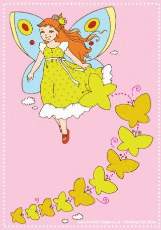 Fairy printables - pretty writing paper, acrostic poems, reward chart etc