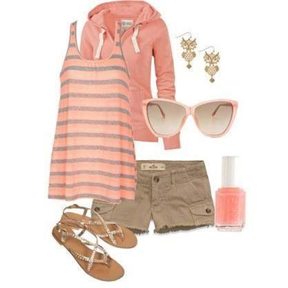 Pink summer outfit - Facebook (fashion house)