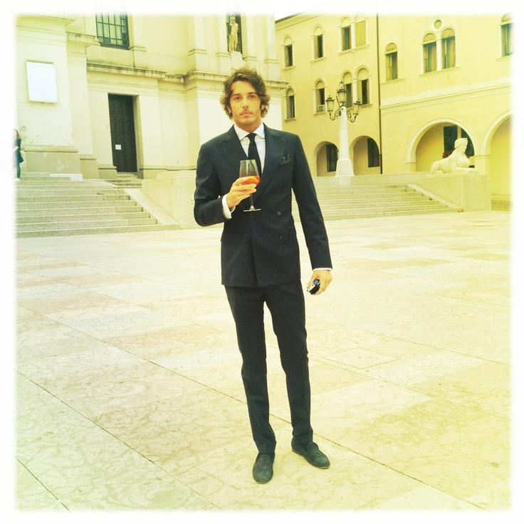 Cb around the world - Nicolo' Oddi attending Giulia and Gianandrea wedding in Conegliano Veneto !
