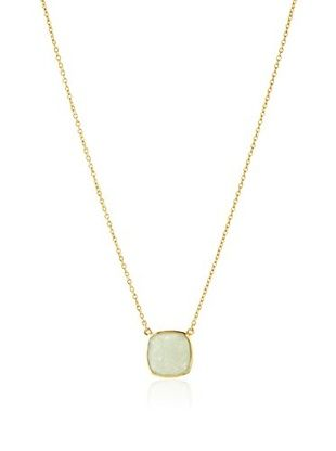 54% OFF Argento Vivo Green Aventurine Pendant Necklace