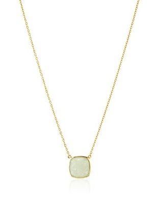 54% OFF Argento Vivo Green Aventurine Pendant Necklace