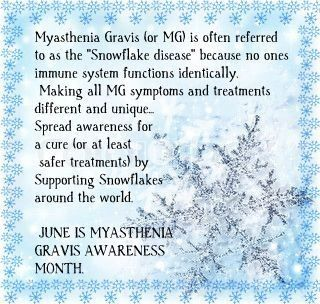 myasthenia gravis awareness - Bing Images