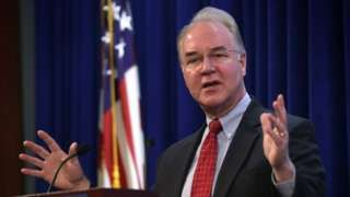 Trump names Obamacare critic Tom Price to key role - BBC News