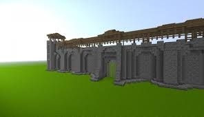 Image result for minecraft castle wall designs