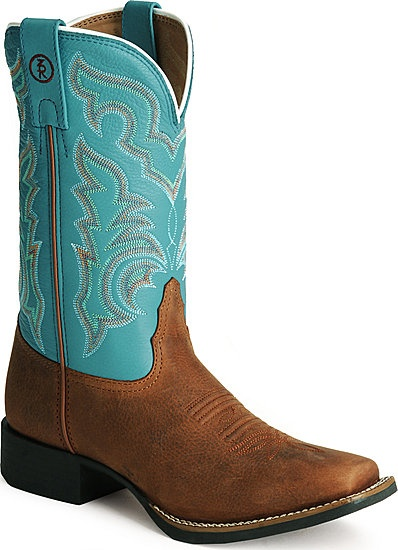 Ariat square toed boots!