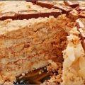 Как приготовить торт сникерс - рецепт, ингридиенты и фотографии