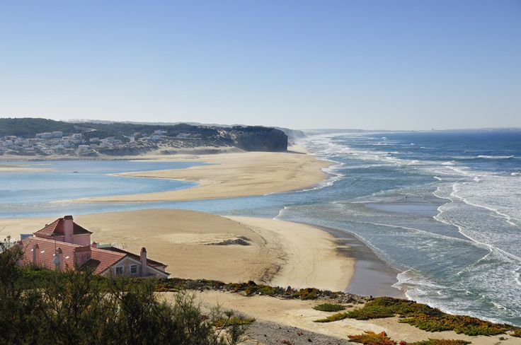 Foz do Arelho, Óbidos. Playa- Arena - Playa...
