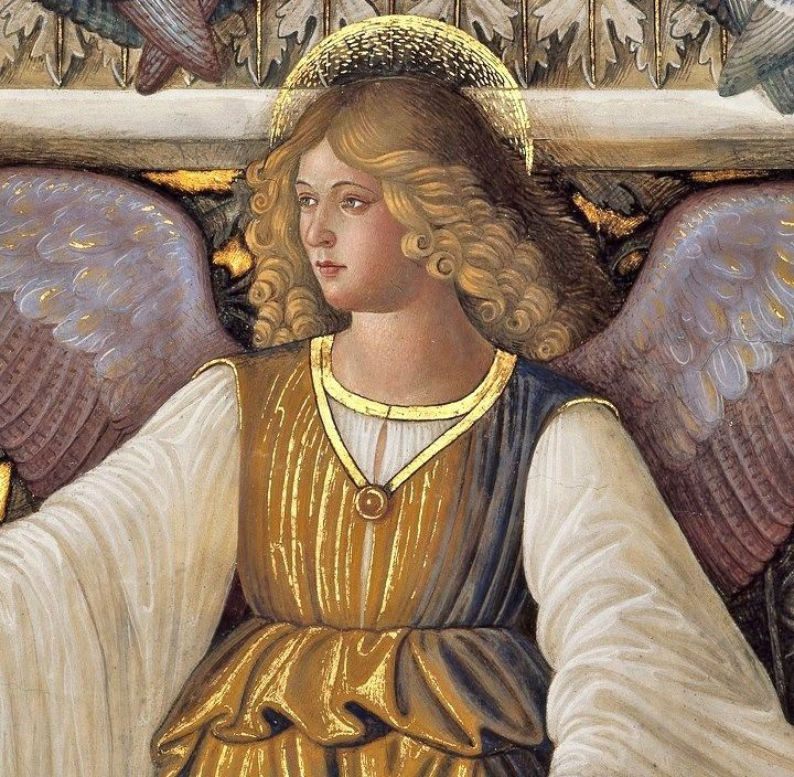 Melozzo da Flori (Italian Renaissance artist, 1438-1494) Angel from the Vault of the Sacristy of Saint Mark