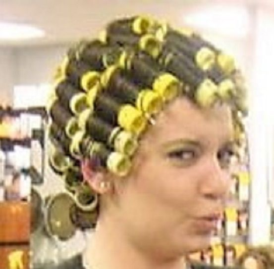812 Best Images About Sexy In Curlers On Pinterest -3942