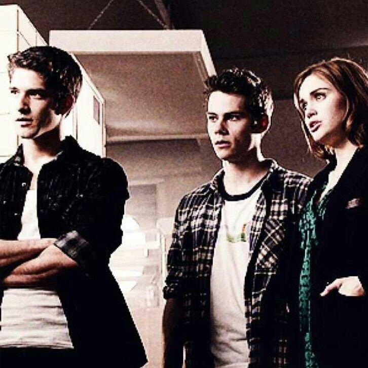 Scott Stiles and Lydia #TeenWolf