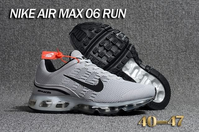 Cheap Nike Air Max 360 Flyknit Men shoes Gray Black For Discount Only Price $67 To Worldwide and Free Shipping WhatsApp:8613328373859