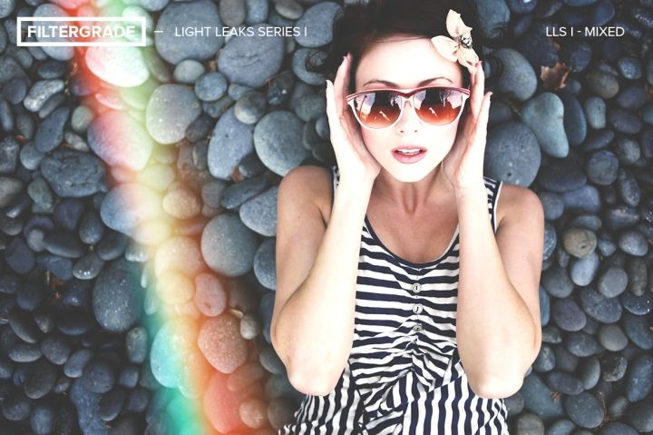 Light Leaks Series I Photoshop Actions By FilterGrade