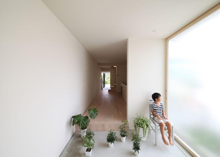 Imai three metre wide house Katsutoshi Sasaki architects