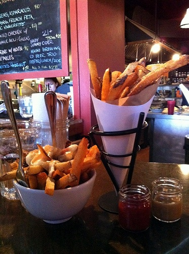 Duck Fat, fries & beers in Portland, ME