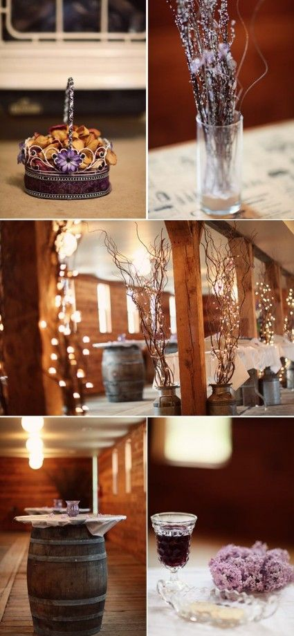 Love these Ideas very rustic