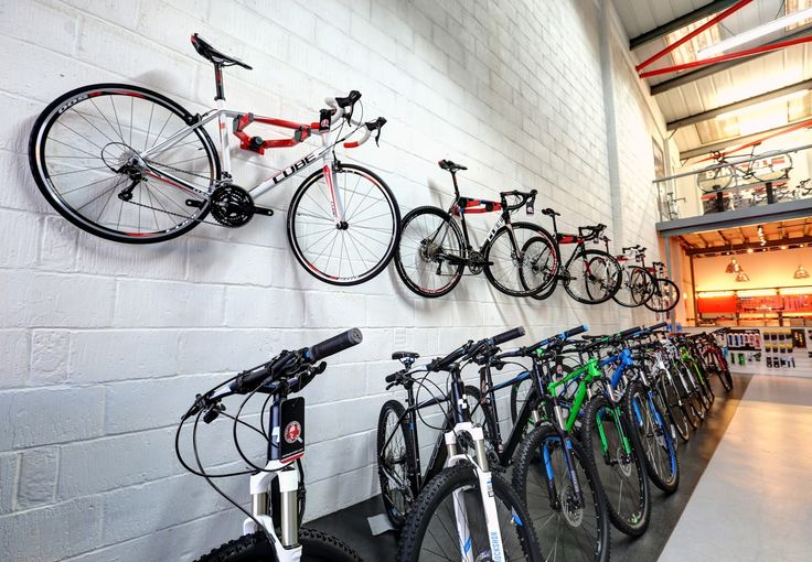 Bikes, bikes and more bikes