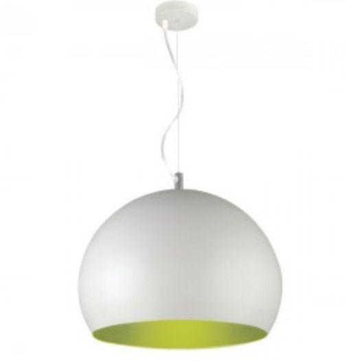 Beacon lighting inside 1 light 3 4 dome pendant in white green 99 95