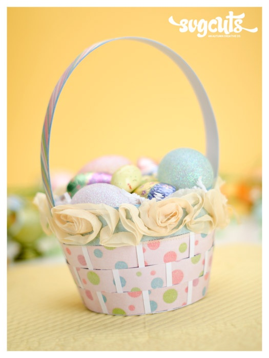 96 best easter baskets images on pinterest easter baskets easter diy paper easter basket negle Choice Image