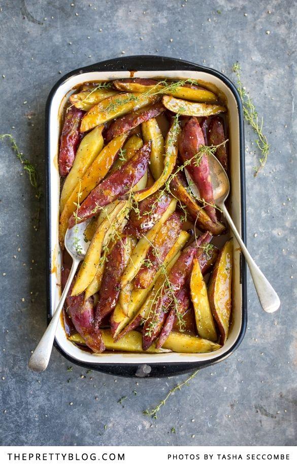 Batata assada doces com Brown Sugar & Laranja | Receitas | O Blog Bonito