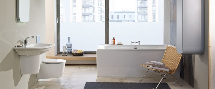 Modern, simple and stylish. Just the way your #bathroom should be